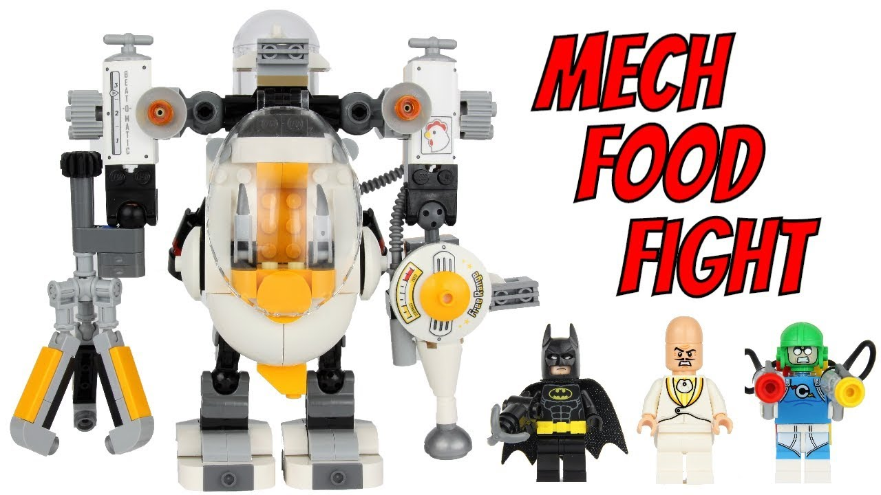 Download LEGO Batman 2018 Egghead Mech Food Fight 70920 Review!