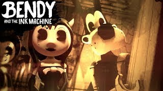 АНГЕЛЬСКИЙ КОНЕЦ Bendy And the ink machine chapter 3 глава 3 прохождение