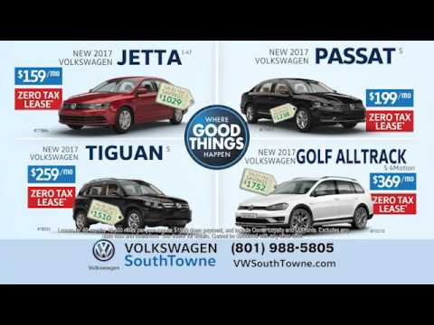 VW Southtowne No Sales Tax Event