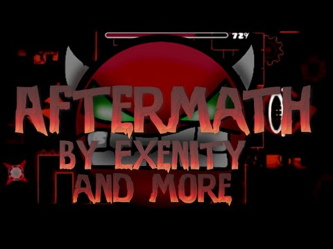 Geometry Dash   HARDER THAN CATACLYSM? - Aftermath by Exenity and more