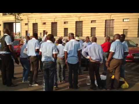 Male vocal group in Pretoria