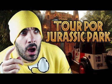PASEO VIRTUAL POR JURASSIC PARK ⭐️ Jurassic Dream (Tour)   iTownGamePlay