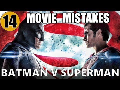 14 Mistakes of BATMAN v SUPERMAN You Didn't Notice