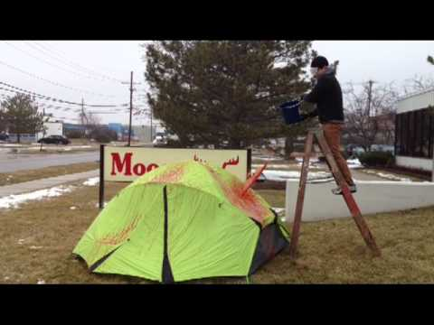 Moosejaw Test Lab Nemo Losi Tent | Puppy Soup Test & Moosejaw Test Lab: Nemo Losi Tent | Puppy Soup Test - YouTube