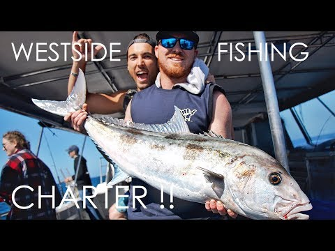 WESTSIDE FISHING CHARTER!! - Perth, Western Australia - Saltwater Charters - Ep 6