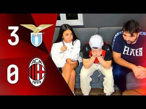 IMBARAZZANTI... - LAZIO 3-0 MILAN | LIVE REACTION GOL TIFOSO ROSSONERO