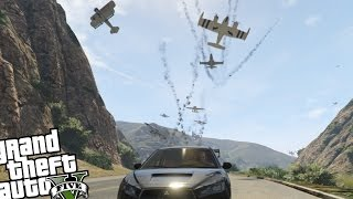 gta v pc fun with angry planes mod survive the madness gta 5 gameplay