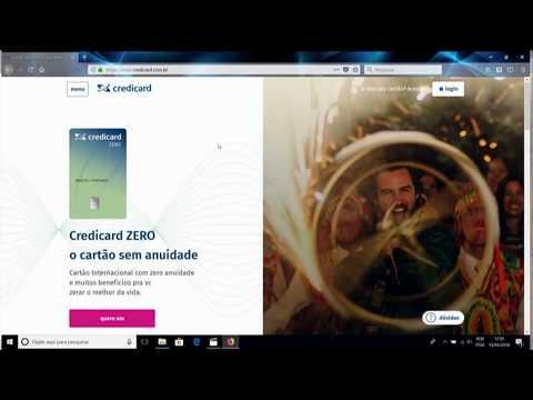 CARTÃO CREDICARD ZERO INTERNACIONAL: EU RECEBI, DESBLOQUEEI, FUI ÁS COMPRAS E APROVEI!!! from YouTube · Duration:  2 minutes 48 seconds
