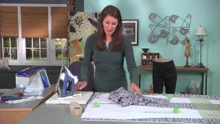 Learn how to make leggings on It's Sew Easy with Angela Wolf (1308-1)