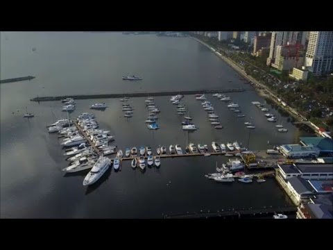 Manila Bay from the Sky - DJI Mavic Pro [4K]