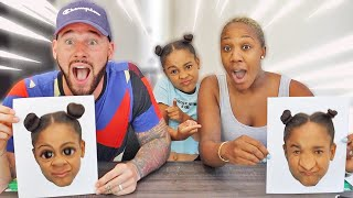 Drawing Our Daughter Cali 🎨 FamousTubeFamily