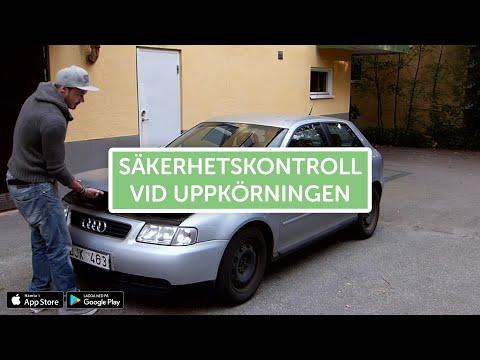 Säkerhetskontroll för bil (B-körkort)