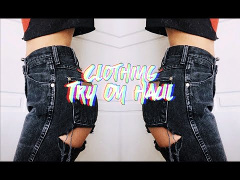 TRY ON CLOTHING HAUL ☆