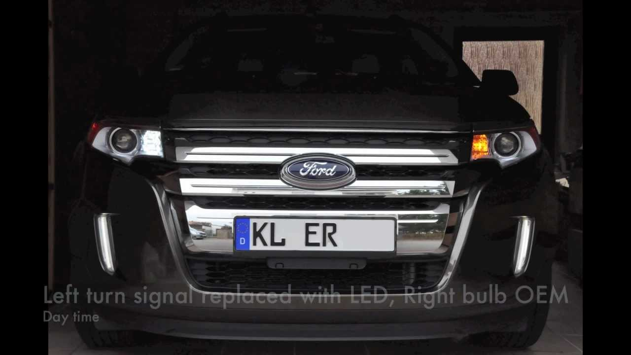 2011 ford edge led switchback turn signal install [ 1280 x 720 Pixel ]