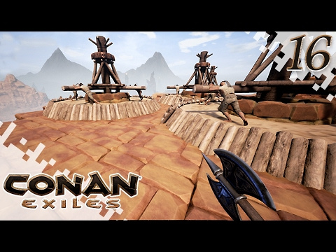 CONAN EXILES - Disappointing - EP16 (Gameplay)
