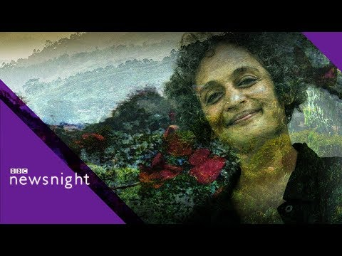 Arundhati Roy: Violence in India is terrifying - BBC Newsnight