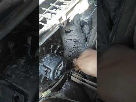 Установка мотора печки отопителя Приора с кондиционером Halla