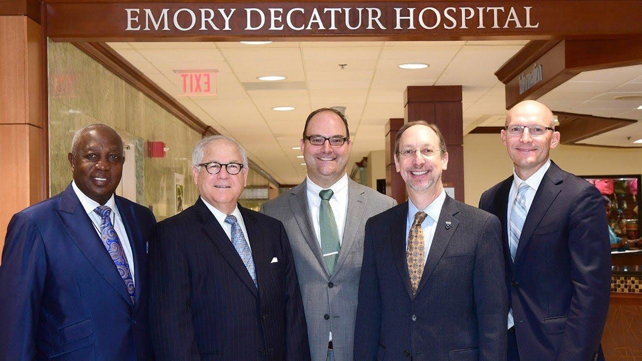Emory Healthcare Welcomes DeKalb Medical