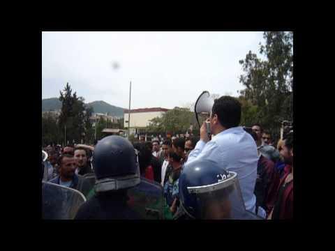 20 avril - Printemps amazigh 2014 tourne à l'émeute à Tizi-Uzzu