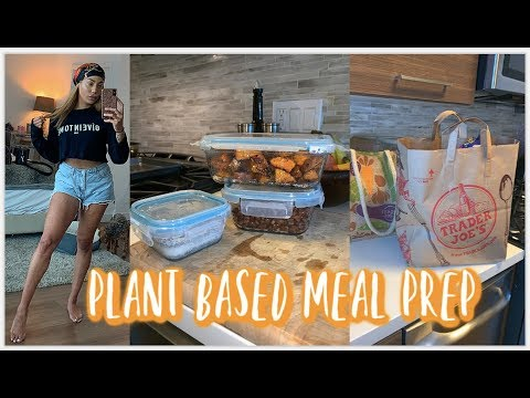 plant-based-meal-prep-for-lazy-people-+-grocery-haul