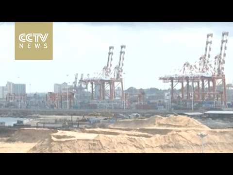 China-Sri Lanka port construction project resumes