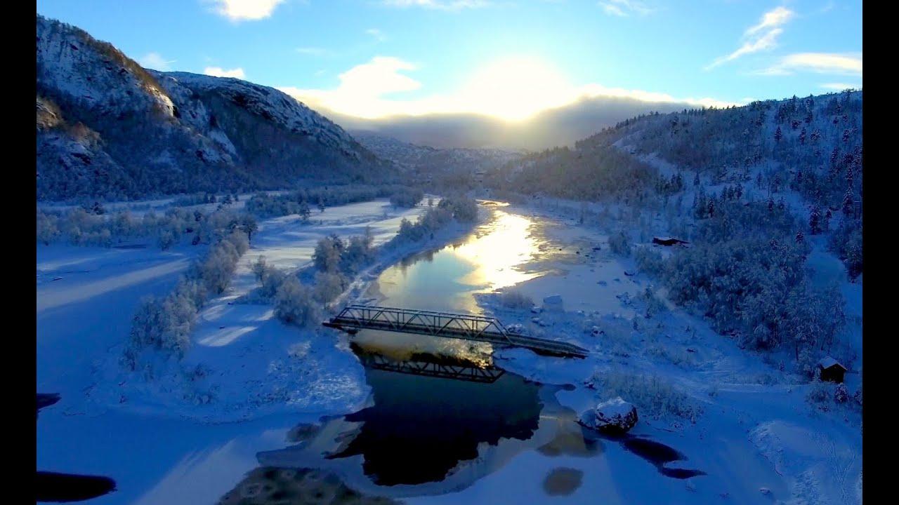 Frozen Landscape 4k 01 N Homeobox Sirdal Norway Youtube