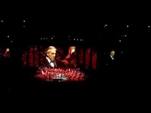 Andrea Bocelli 12.6.2017 United Center - Chicago Part 1