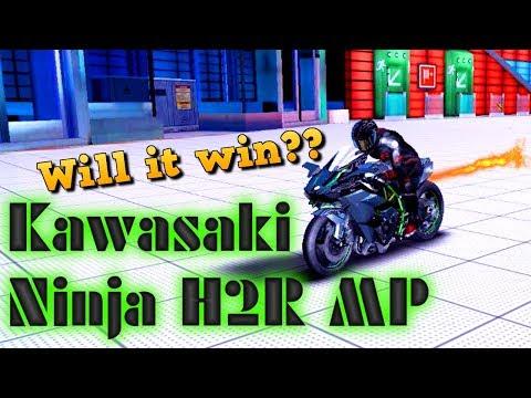 GLITCHY SLK BIKE!?! Kawasaki Ninja H2R (Rank 1548) Multiplayer in Asphalt 8