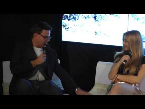 Radio City Christmas Live 2014 - Becky Hill Interview (Back Stage)
