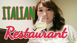 【密着】イタリアンディナー食Vlog③ in麻布十番