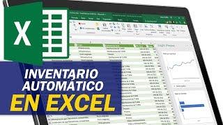 Cómo hacer un inventario automático de entradas y salidas en excel / Contabilidad y Finanzas Online