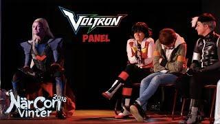 Voltron panel NärCon Vinter 2018