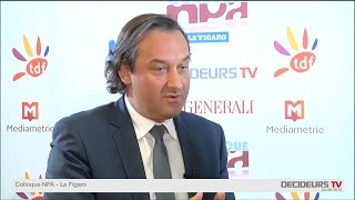 Colloque NPA-Le Figaro 2015 : Benjamin Grange, AEGIS MEDIA FRANCE