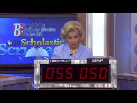 2015 PBS39 Scholastic Scrimmage  Saucon Valley vs Dieruff