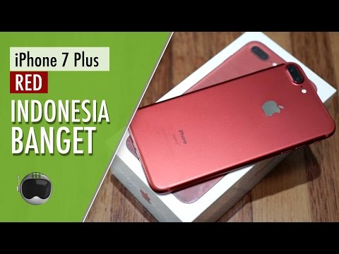 Iphone 7 Plus Red Edition Hands On Indonesia Youtube
