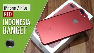 iPhone 7 Plus RED Edition Hands-on Indonesia