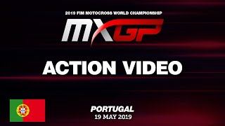 Antonio Cairoli passes Tim Gajser at the MXGP Qualifying Race at th...