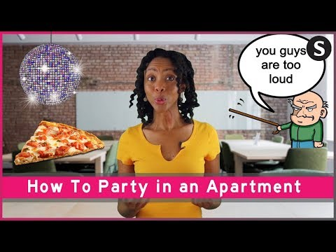 How To Throw a Party in a Small Apartment!
