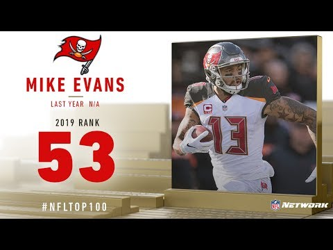 new concept 55ce2 a4d48 53: Mike Evans (WR, Buccaneers) | Top 100 Players of 2019 ...