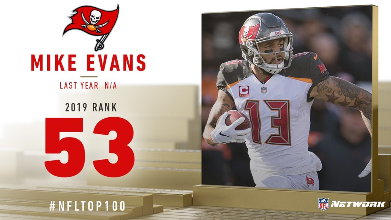 sports shoes 43630 fc3e9 #53: Mike Evans (WR, Buccaneers) | Top 100 Players of 2019 | NFL