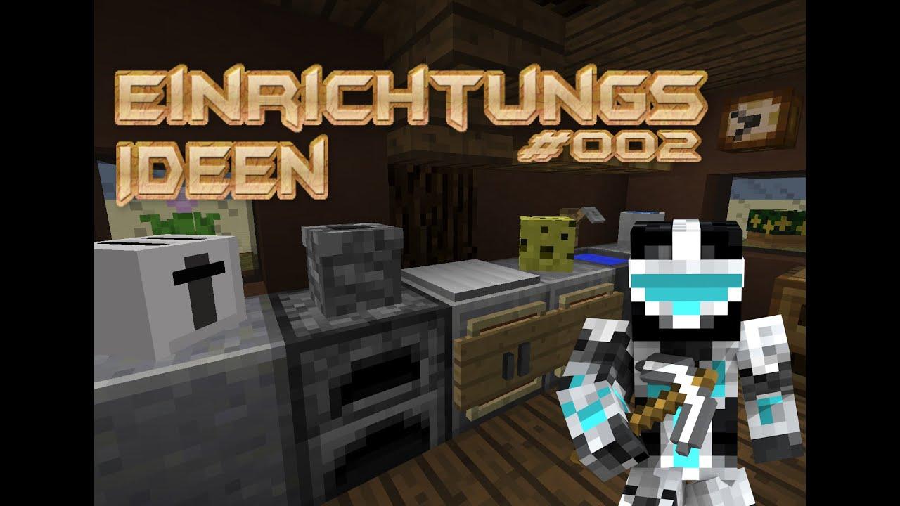 Minecraft Einrichtungs Ideen YouTube - Minecraft wiki spielerkopfe