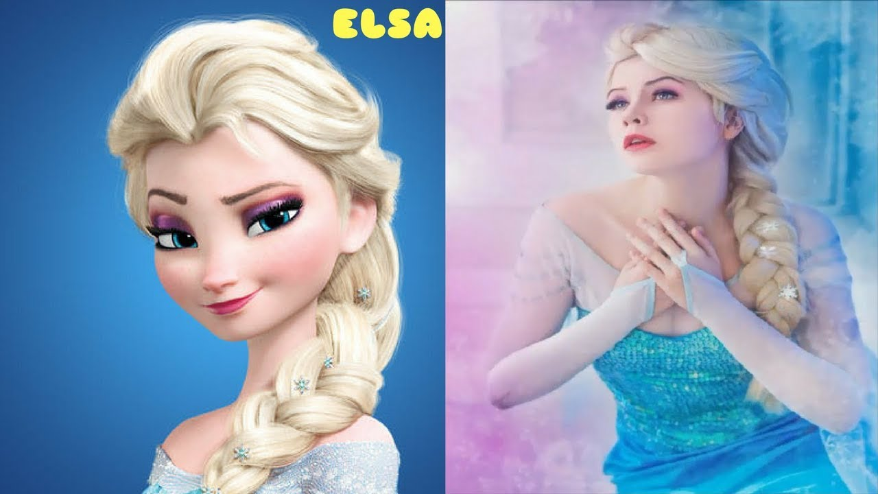 frozen real life characters frozen in real life youtube