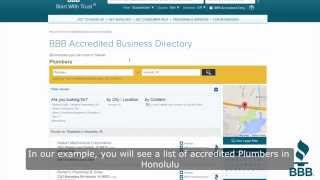 How to find BBB Accredited Businesses