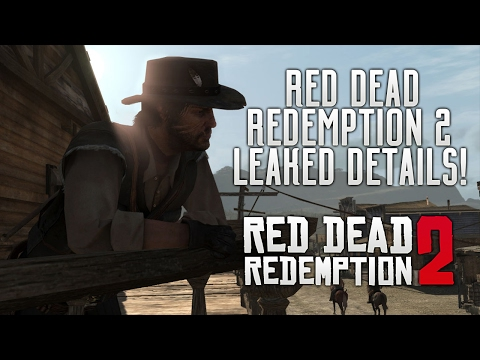 Red Dead Redemption 2 - Leaked Info! Story Details, New Features, GTA V San Fierro DLC & More RDR2!