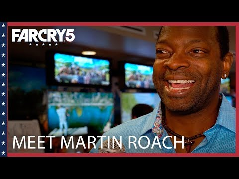 Far Cry 5: Meet Martin Roach, voice of Pastor Jerome Jeffries | Ubisoft [NA]