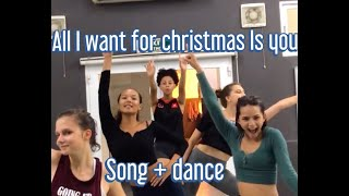 Mariah Carey - All I Want For Christmas Is You (SONG AND DANCE)
