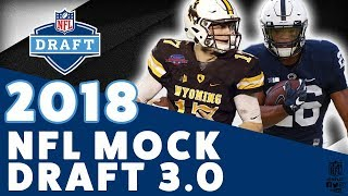 2018 NFL Mock Draft 3.0 | February 13th