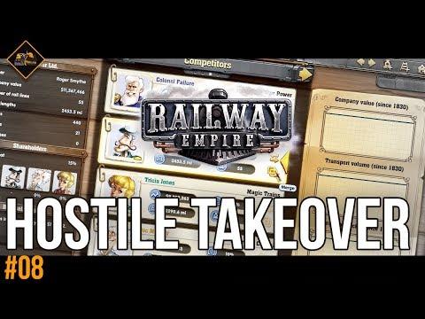 Hostile Takeover | Railway Empire gameplay #8