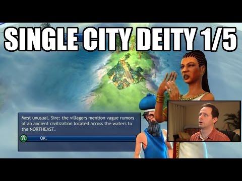 Civilization Revolution - Single City Economic Victory 1840 AD - Deity - Part 1