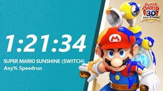 My First Mario Sunshine HD Speedrun!